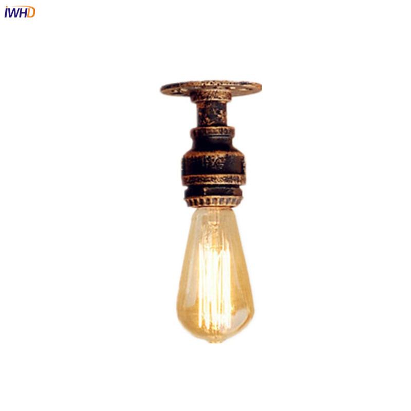 Iwhd Water Pipe Retro Vintage Ceiling Light Fixtures: Aliexpress.com : Buy IWHD Mini Style Water Pipe Edison
