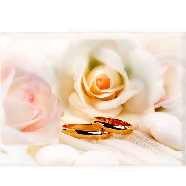 Hot sale diamond embroidery white flowers round rhinestones hot sale diamond embroidery white flowers round rhinestones needlework gold wedding rings diy cross stitch love mightylinksfo