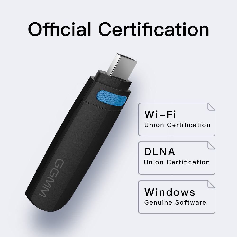 GGMM Mini HDMI Dongle TV Stick HD 1080P Wireless WiFi Dongle Display Miracast Support 5G/2.4G AirPlay DLNA for Video YouTube etc-in TV Stick from Consumer Electronics    2