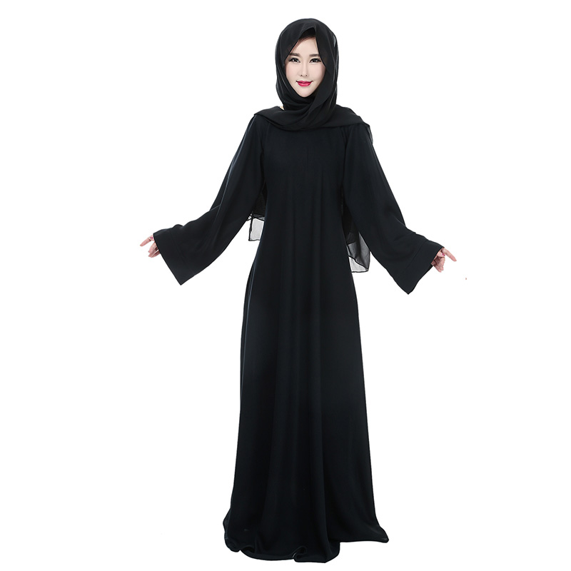 Muslim Women Fashionable Maxi Plus size Jilbabs Kaftan Abayas Saudi Arabia Modest Dress Robe pour femme Musulmane Jurken