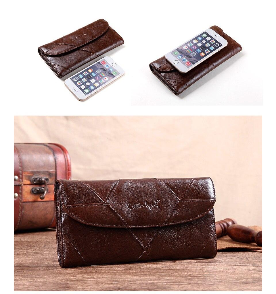 محفظة جلدية فاخرة للنساء 4