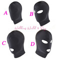 4 Style Fetish Mask Hood Sexy Toys Open Mouth Eye Bondage Hood Party Mask Cosplay Hood Headgear Mask Adult Game Sex Products