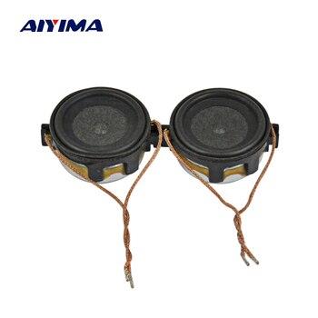 AIYIMA 2 шт. 20 мм мини аудио портативные колонки 8 Ом 1 Вт Altavoz Portatil Колонка для компьютера музыкальный центр