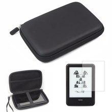 Bolsa protectora para viajes al aire libre bolsa de Estuche portátil + Protector de pantalla LCD película de protección Cove para Onyx Boox C67ML Carta Plus 6 pulgadas