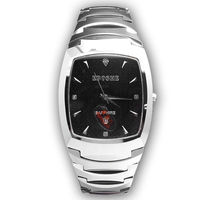 Fashion quartz watch tungsten steel waterproof square diamond men's watch 2018 New Moment Sport Wrist Clock Top Brand Luxury A13