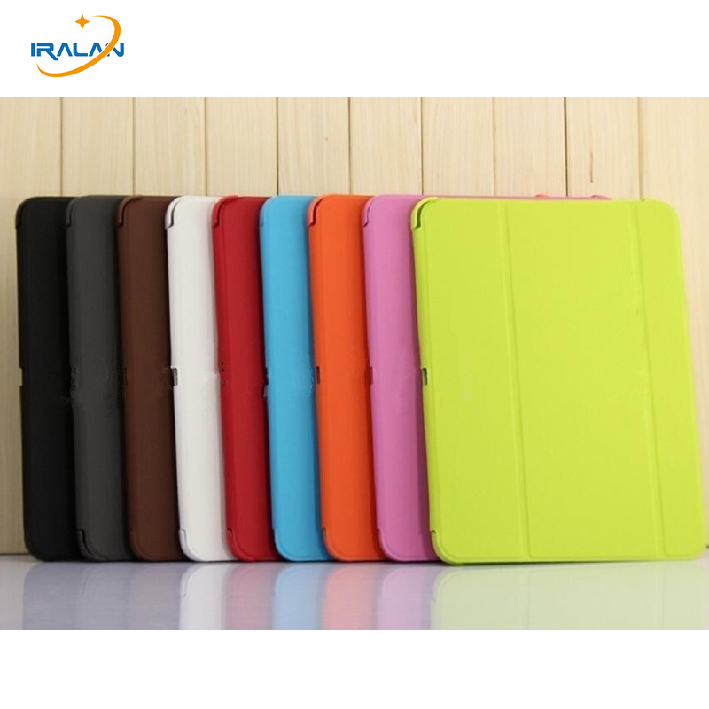 2018 Business Folding Smart Stand PU Leather case for samsung galaxy Tab 4 10.1 T530 T531 T535 t530NU tablet cover + stylus free 3 in 1 high quality business smart pu leather book cover case for samsung galaxy tab s2 t710 t715 8 0 stylus screen film