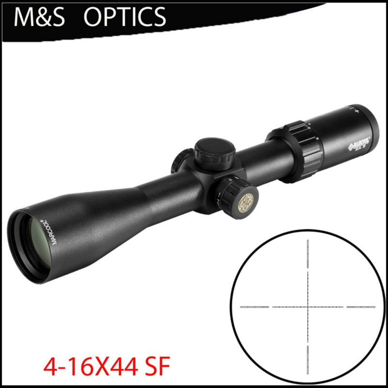Marcool Optical Sight 4 16x44 Sf Riflescope Scope Hunting