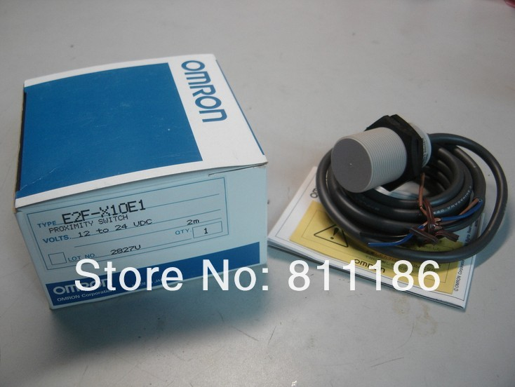 5pcs/lot  proximity switch E2F-X10E1 is brand new and original ,in stock 5pcs lot proximity switch e2e x2d1 p1 is brand new in stock