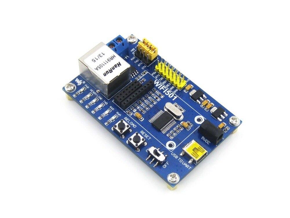 WIFI501 USB WiFi Module Mother Board Wireless Communication Development Board USB To Serial Port UART Used For WIFI232