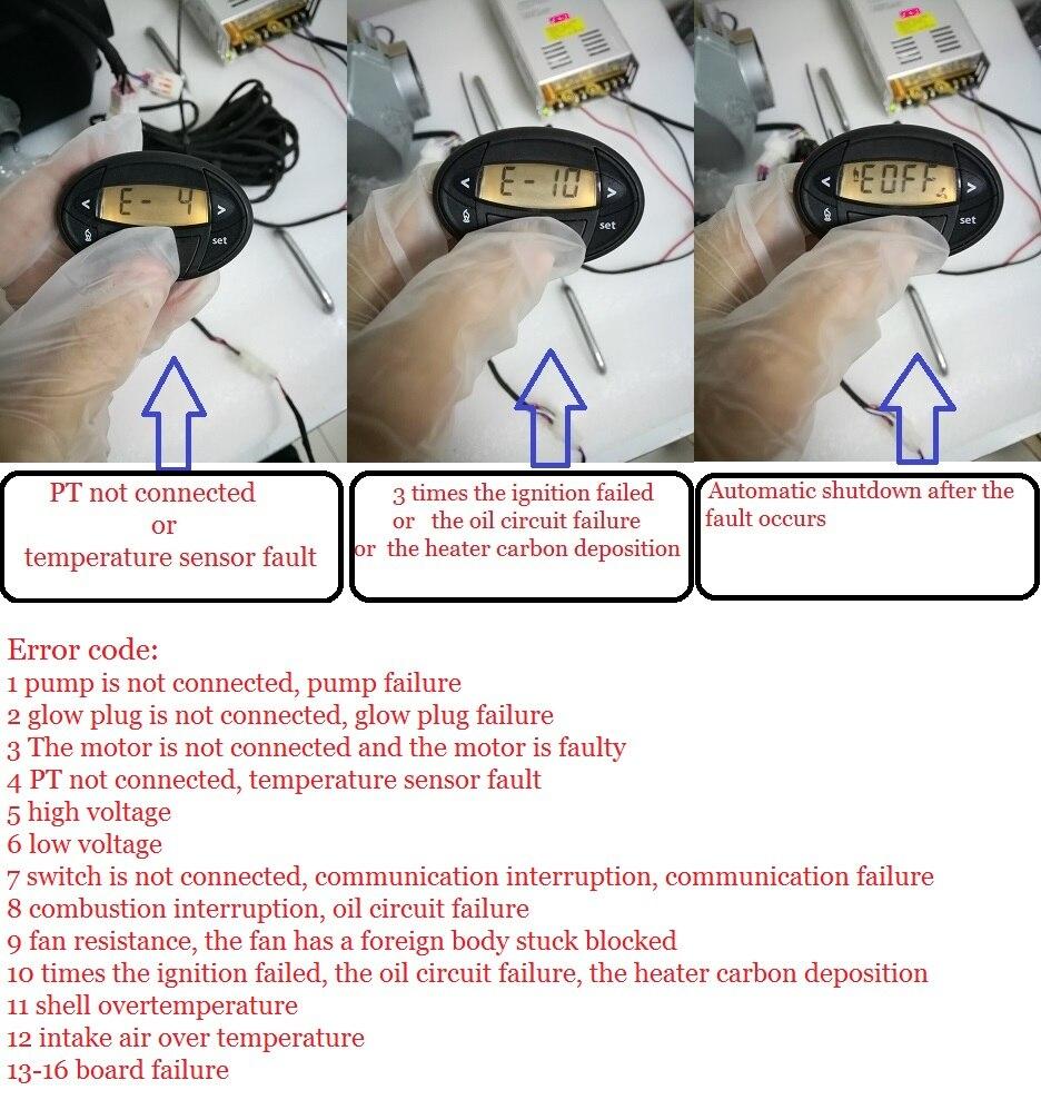 Купить с кэшбэком Air 3KW 24V Diesel Similar Webasto (Not Webasto) Parking Heater For Boat BusTruck Caravan MotorHome Car Air Heater Diesel