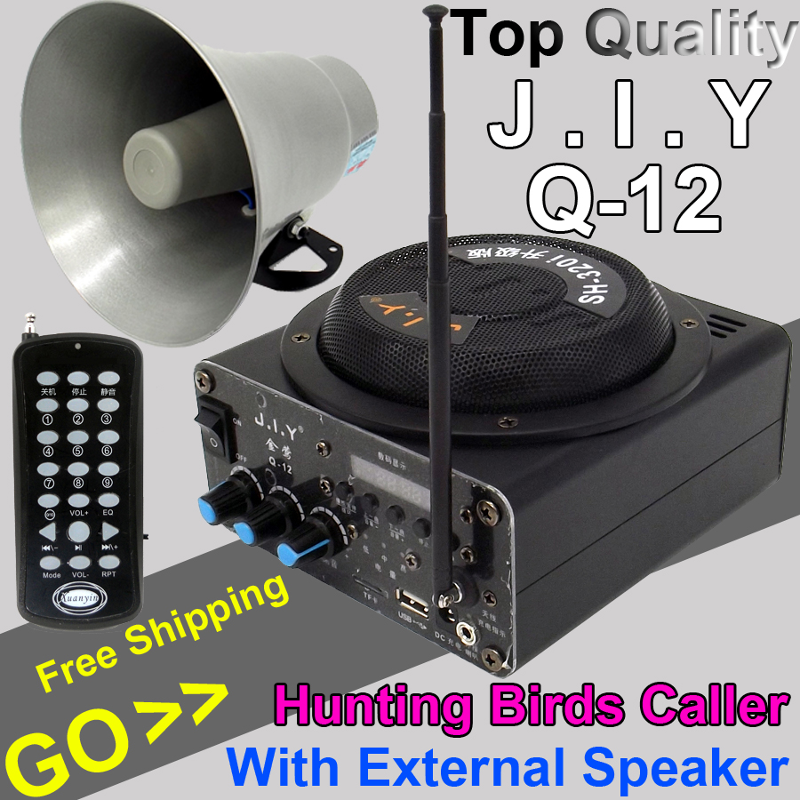Outdoor 1500m Remote Control Amplifier Hunting Bird Caller font b MP3 b font font b Player