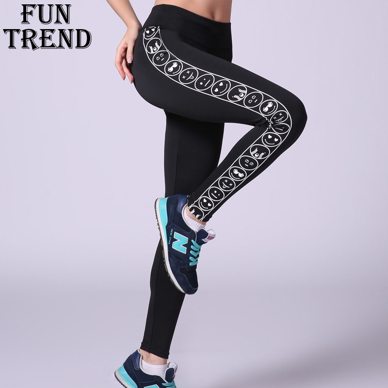 Women Sport leggings Sport Pants High Waist Yoga Pants Stretched Gym Running Tights Female Sportswear Compression Pants Trousers