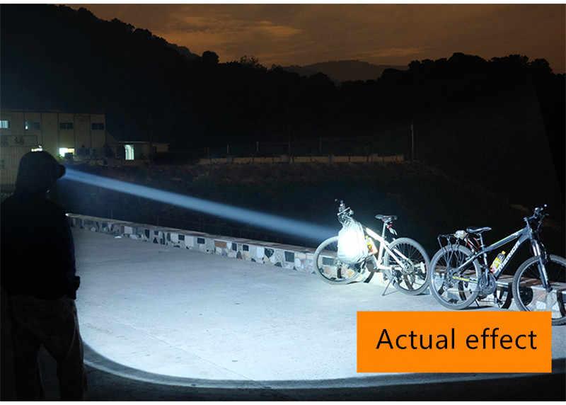 E17 LED zoom Lanterna tocha lanternas à prova d' água T6 Q5 3800LM 3 modo 5 modo led Zoomable luz da bateria Navio Livre