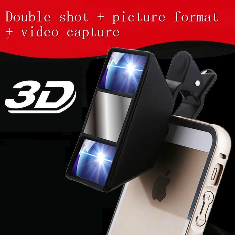 Mobile Phone Effects Mini 3d Camera Self Timer Vr Camera 3d Video