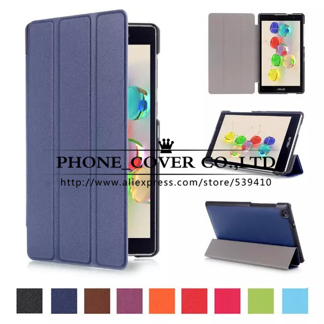 Magnet Stand Leather case cover For Asus Zenpad C 7.0 Z170 Z170MG Z170C Z170CG 7 Tablet cover case + screen protectors + stylus ultraslim cover for asus zenpad s 8 0 z580c z580ca case stand book cover folio leather case for asus zenpad s 8 0 z580 tablet