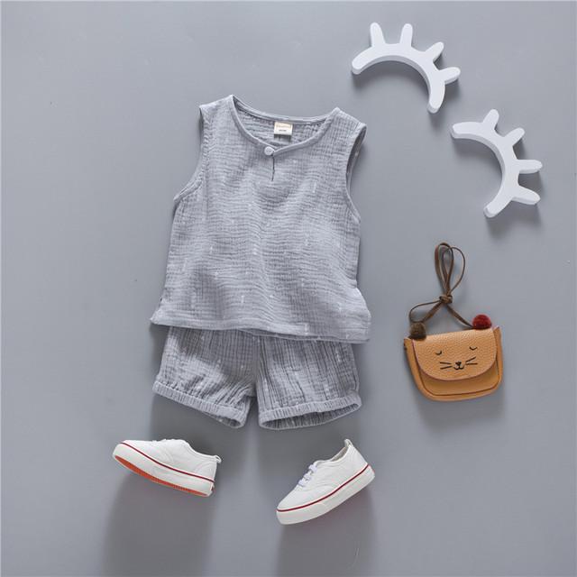 Girl's Summer Clothing Set