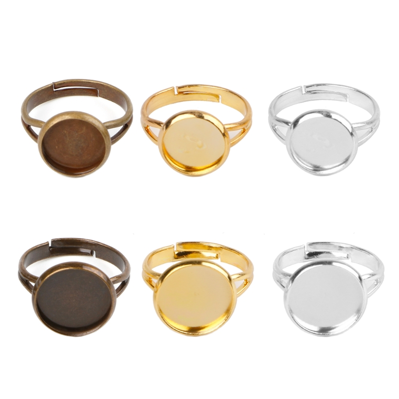 10 шт изготовленное вручную кольцо заготовки с ободком подходит для 10 12 мм стеклянный кабошон для изготовления ожерелья-in Фурнитура и компоненты для ювелирных изделий from Ювелирные украшения on Aliexpress.com | Alibaba Group