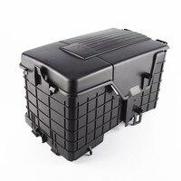 DOXA Car Battery Sheathing Dust Cover Protection Holder Box 1KD915443 1KD915335 1KD915336 For A3 VW Passat B6 Golf Jetta MK5 MK6