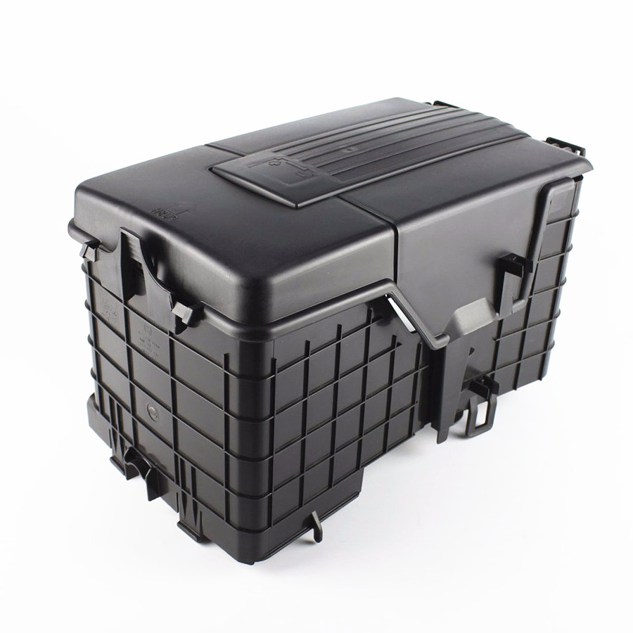 SCJYRXS Car Battery Sheathing Dust Cover Protection Holder Box 1KD915443 1KD915335 1KD915336 For A3 Passat B6 Golf MK5 MK6