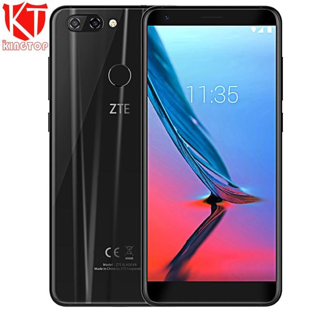 "Original ZTE V9 Mobile Phone 5.7"" 18:9 full screen 4GB RAM 32GB ROM Android Octa Core Dual Rear Camrea 16MP+5.0MP 3100mAh phone"