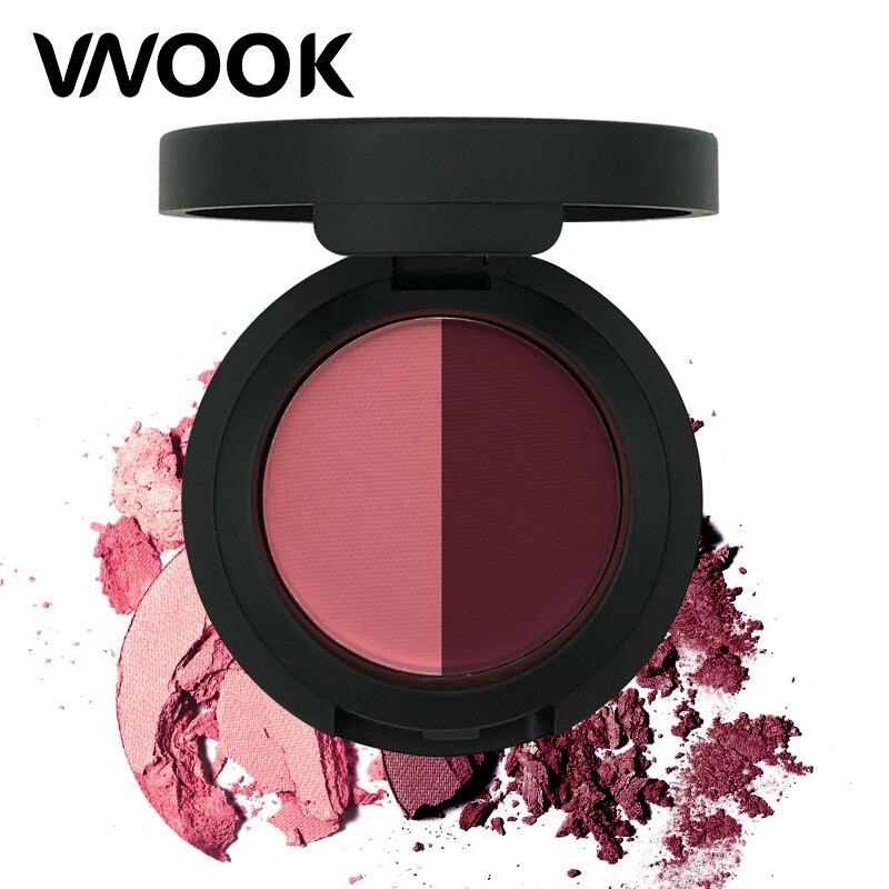 Vnook 1 Pcs Glitter Eye Shadow Palette Pigment Shimmer Matte