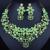 2016 Venda Quente banhado a Ouro Jóias Conjunto FARLENA Marca Elegante Contas de Cristal Africanos Set Jóias Dubai Colar + Brincos Conjuntos