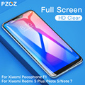 PZOZ Xiaomi Pocophone F1 Glass Mi 2 2S 5X A2 lite Glass Redmi Note 5 6 7 K20 Pro 4X 5 Plus 7A Tempered Glass Full Cover Screen