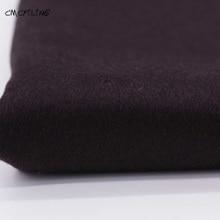 CMCYILING Single-Sided Brown Tweed Cashmere Wool Fabric for Autumn Winter OUTWEAR Coat  Fabrics Felt Tissu Stoffa Meter