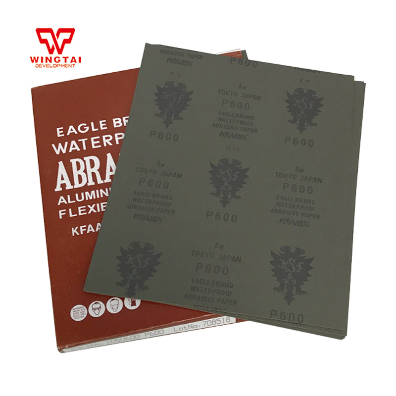 Japan Origin KOVAX/EAGLE Waterproof Abrasive Paper /Fine Grit Sandpaper