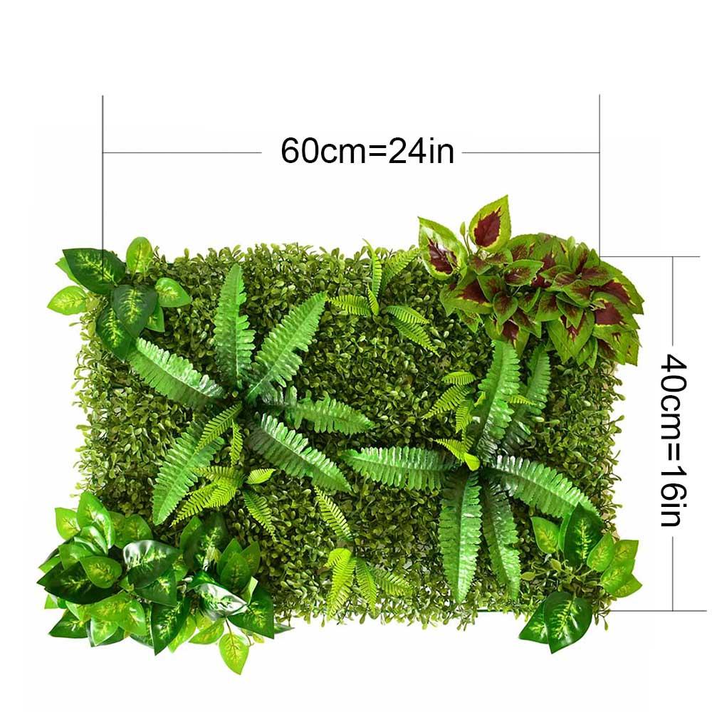 Artificial Lawns Plastic Green Grass Eucalyptus Artificial FLowers ...