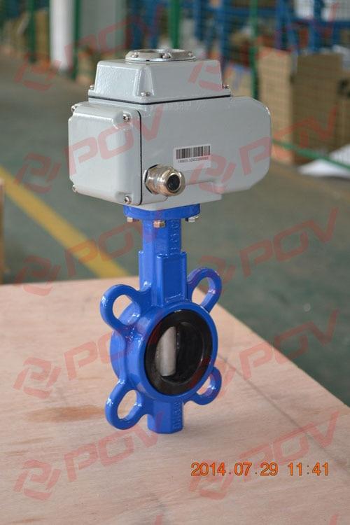 dn65 epdm seal wafer electric butterfly valve ethylene propylene soft seal butterfly valve pn 1 6 dn65 manual flange valve