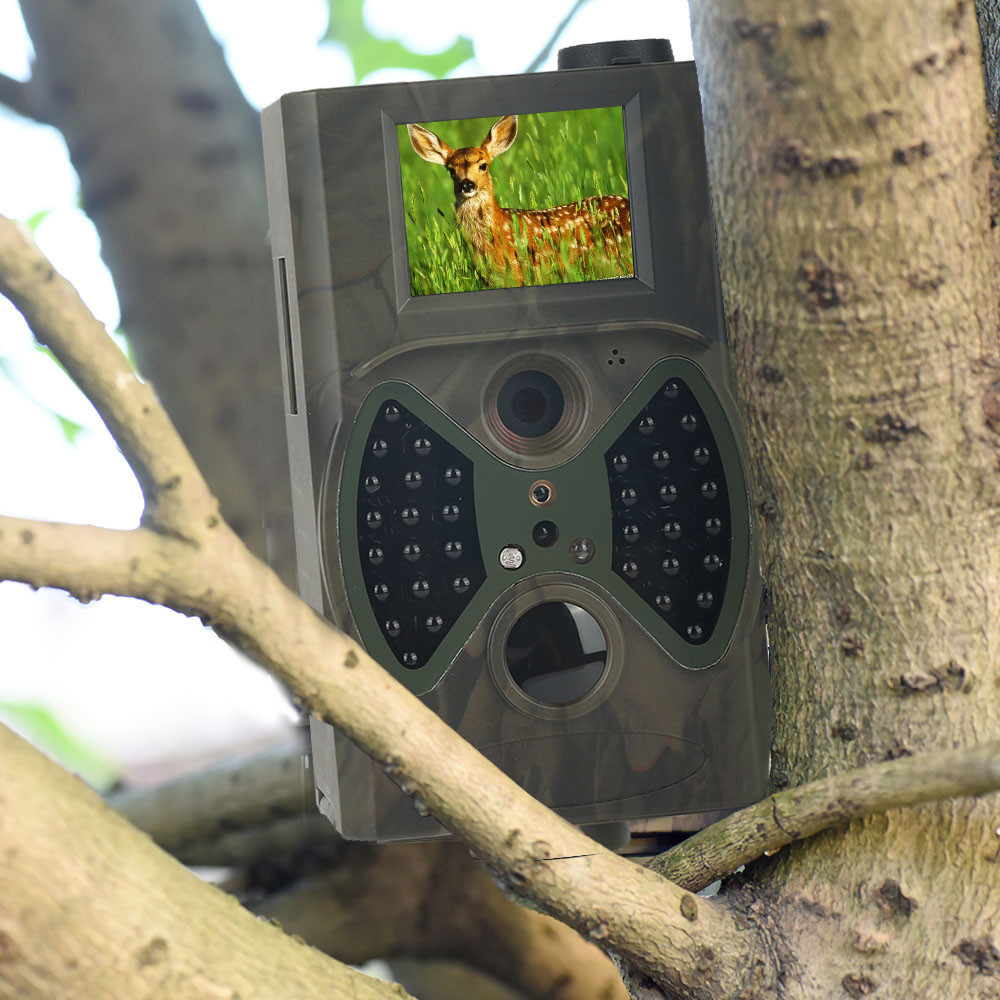 Wireless Wildlife Trail Camera Hunting Cameras HC300A 12MP Wild Surveillance Photo Traps  Basic Scouting Tracking|Hunting Cameras| |  - title=