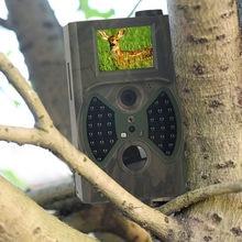 Câmera de trilha sem fio para animais selvagens, hc300a 12mp, câmera de caça e rastreamento selvagem