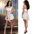 New White Toga Venus Goddess of Love Costume Greek Princess Fancy Dress