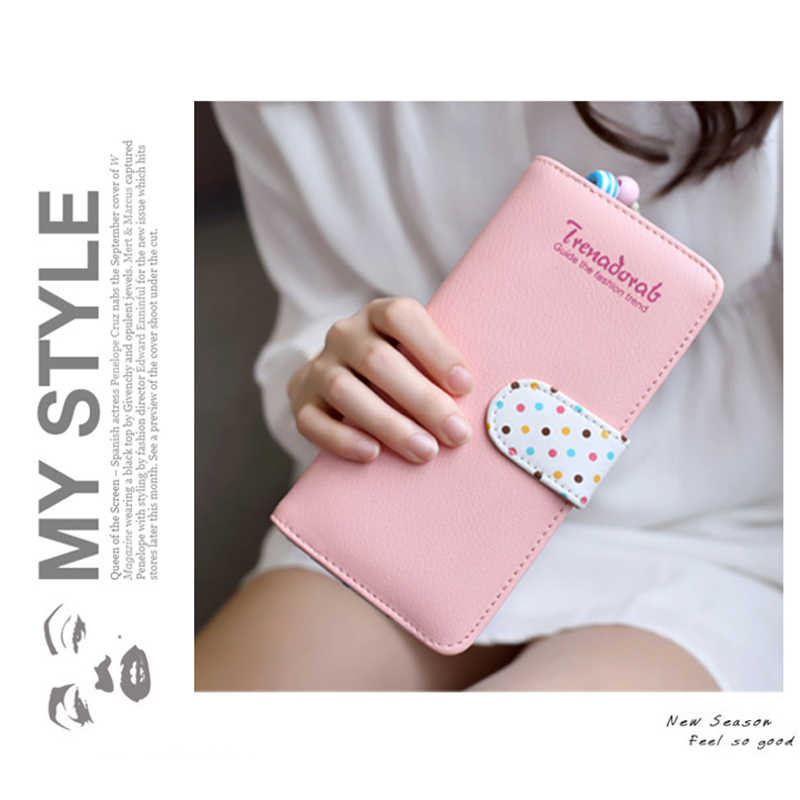 dbc2552e219 ... 2018 Lovely Women Wallet Fashion Designer Women s Purse Best Phone  Wallet Female Case Phone Pocket Money ...