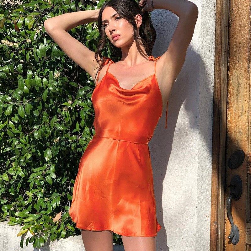 satin strappy dress27