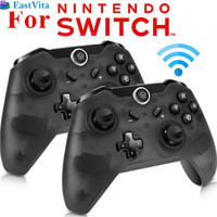 EastVita 1pc 2pcs Bluetooth Wireless Pro Controller Gamepad Joypad Remote For Nintend Switch Console PC Gamepad
