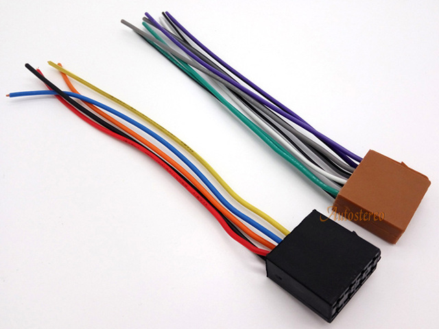 12 001 Autostereo Universal Iso Standard Radio Wire Cable