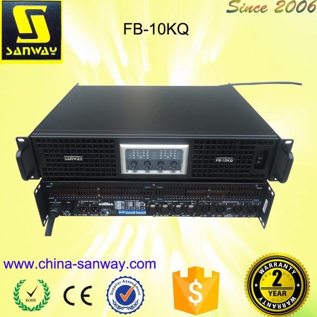 4 Channel Amplifiers