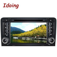 Car DVD Player2Din Steering Wheel For Audi A3Multimedia Video Head Device Stereo Android GPS Navigation Free