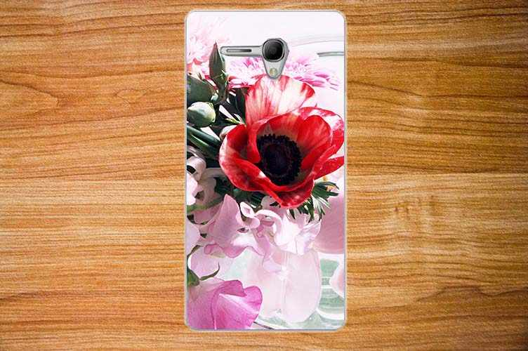 For Alcatel 5025 Cases Luxury Diy UV Painting Colored Flowers Fruit Hard PC Case For Alcatel Pop 3 5025 Pop3 5.5'' Cover Sheer