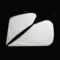 For Yamaha YZF R3 R25 YZFR3 YZFR25 2015 2016 Motorcycle Tank Antiskid Traction Side Pad Gas Knee Grip Protector White