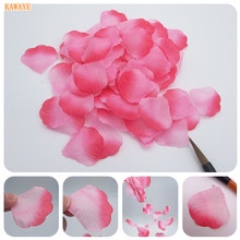 Buy 1000pcs Artificial Rose Petal Wedding Scene Deco online