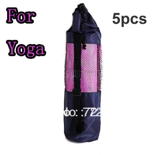 ★  A96 5 шт. / Лот нейлоновый коврик для йоги сумка-сетка центральный ремень 26 дюймов спортивная сумка ✔
