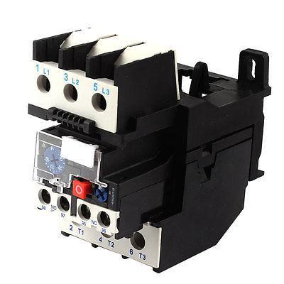 цена на Ui AC 380V Ith 6A Breaker Volt JR28-40 1NO 1NC 3 Pole Thermal Overload Relay