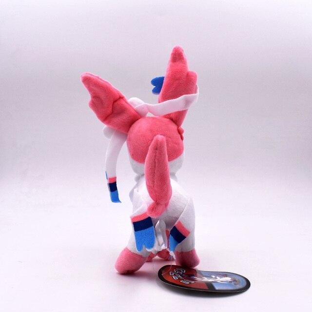 Аниме игрушка Покемон Сильвеон 20 см 3
