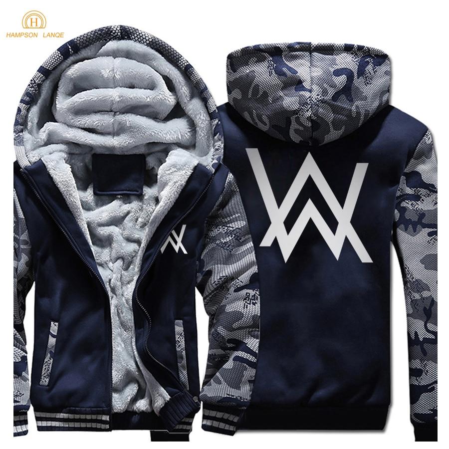 Vestes D'hiver Dj Survêtement De dark Dark Gray Grande Blue Hoodies Blue 2019 Marque dark Zipper Mode Hommes Sweat Musique Taille Streetwear 0r0Iv