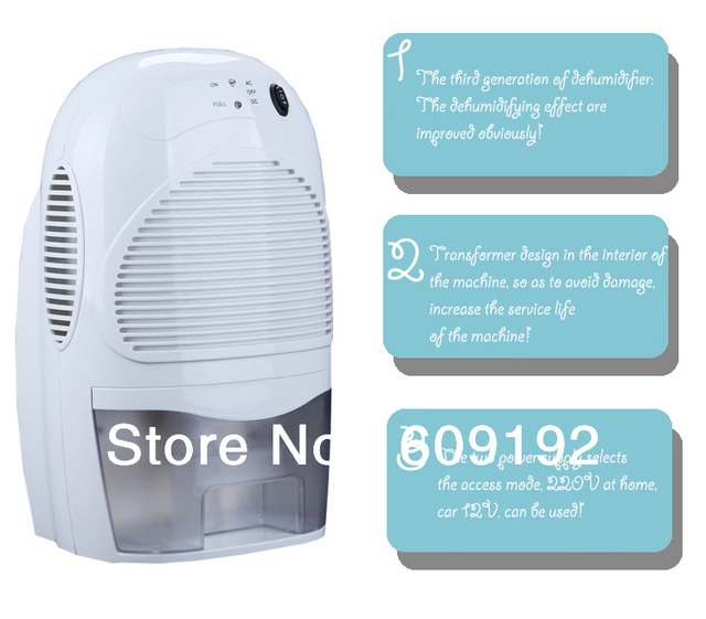 NEW Dehumidifier Free shipping Two kinds of voltage of power supply Car dryer dehumidifier Household air purifying machine