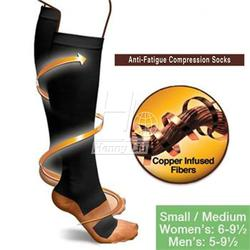 New miracle copper anti fatigue compression socks soothe tired achy unisex women men anti fatigue magic.jpg 250x250