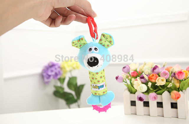 new Arrival Baby rattles plush Toy Early Educational Owl Hand Ring Bell funny Development Newborn Kids dolls